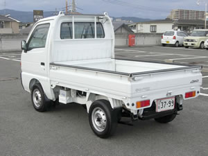 japanese mini truck | suzuki carry dd51t 4x4 | monky's inc japan