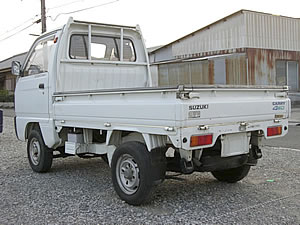 jdm suzuki carry 4x4 mini truck sale japan | export kei-truck for