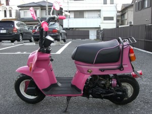 cute scooter